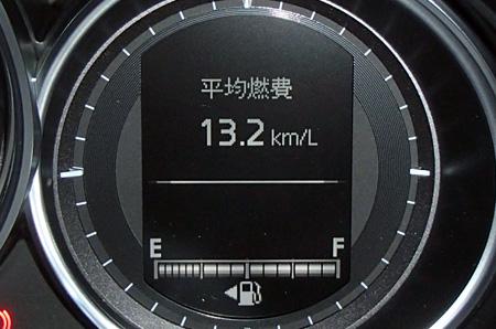 高速巡航時の燃費