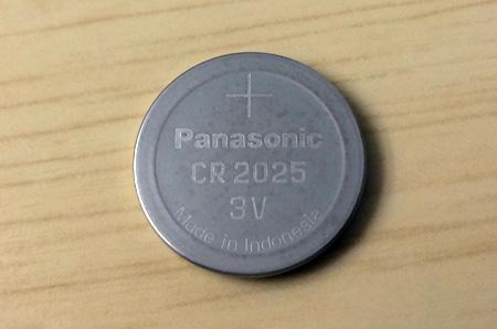 スマートキーのボタン電池