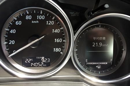 ロングドライブ燃費