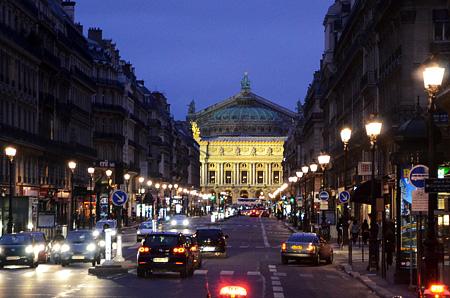 フランス・パリ/オペラ座