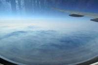 ヨーロッパへ空の旅