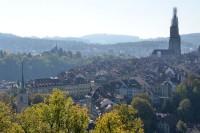 バラ公園から見たベルン旧市街
