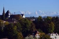 ベルンから見たアルプス山脈
