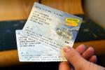 ヴェンゲルンアルプ鉄道の切符