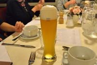 ホテルで飲んだビール