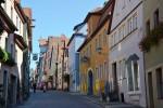 ローテンブルク旧市街の街並み