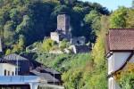 古城街道から見えた古城