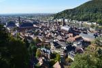 ハイデルベルク城から見た旧市街