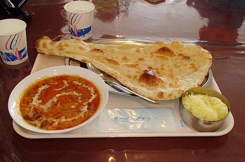 ニルヴァーナの豆カレー