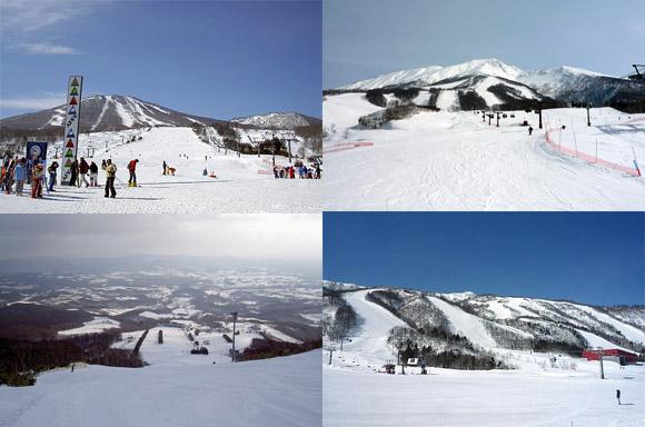 スキー場の写真
