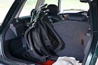 bmw miniにベビーカーを積んでみた