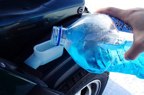 BMW MINIのウォッシャー液