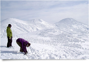 八甲田スキー場山頂