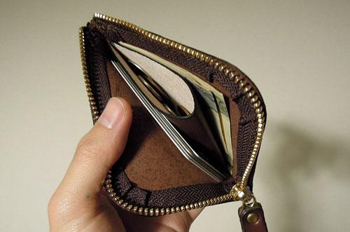 HERZの革財布