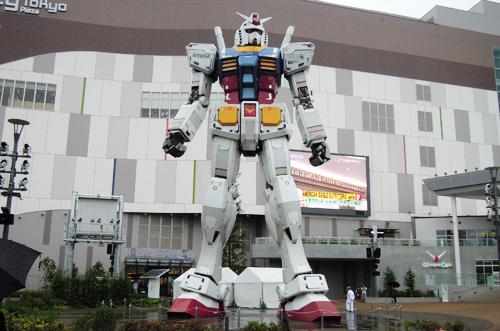 お台場「ガンダムフロント東京」