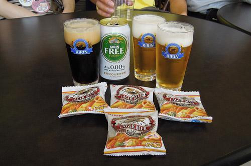 キリンビール工場の無料ビール
