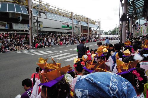 花巻でディズニーパレード