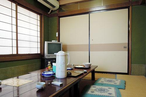 北田食堂の2階席
