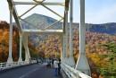 松川大橋と源太ヶ岳