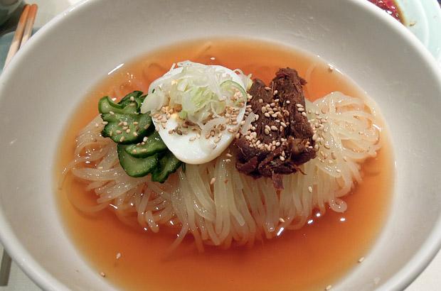 食道園の冷麺