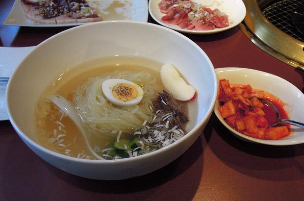 コラーゲン冷麺