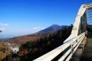 松川大橋から見た岩手山