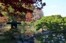 盛岡中央公民館の庭園