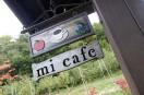 mi cafeの看板