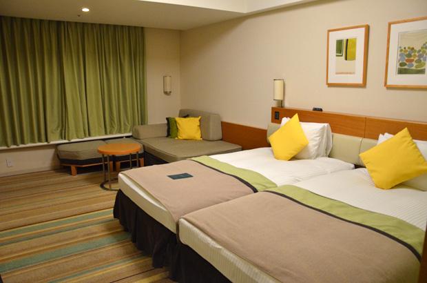 東京ベイ舞浜ホテルの部屋